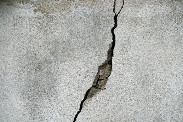 Concrete Cracking Due to Water Damage