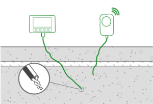 Concrete strength monitoring with thermocouples